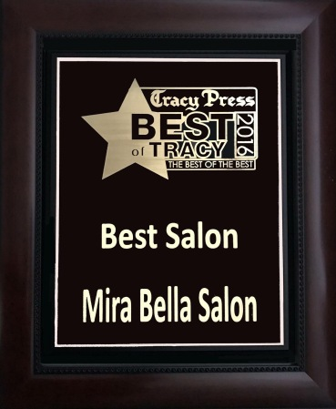 # 1 Hair Salon in Tracy!